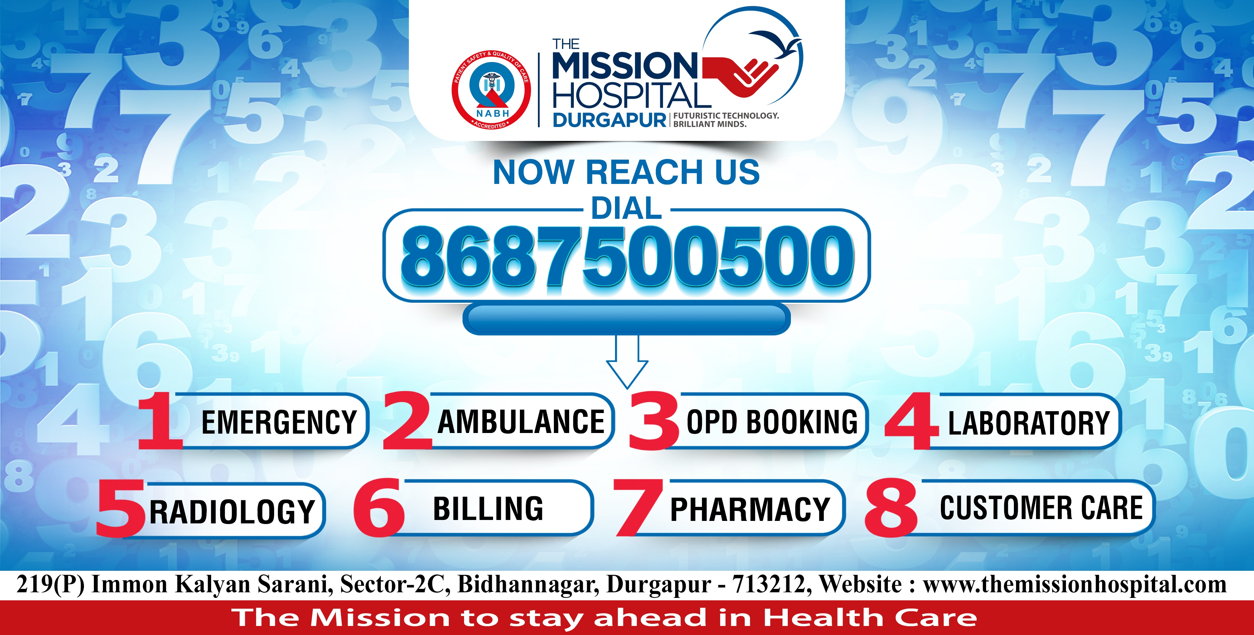 The Mission Hospital, Durgapur is the Best Hospital in